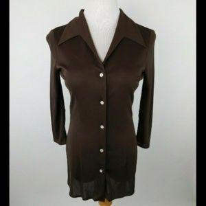 Dolce & Gabbana Vintage Point Collar Shirt